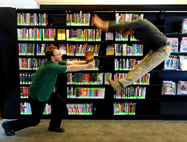 Small_fighting_in_library