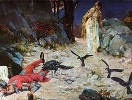 Small_oton_ivekovic__smrt_kralja_petra_svacica_u_gori_gvozdu_1097_god